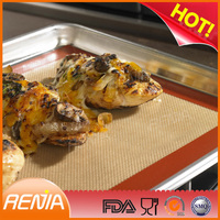RENJIA 100% food grade silicone baking sheet custom silicone baking sheets silicon baking sheet