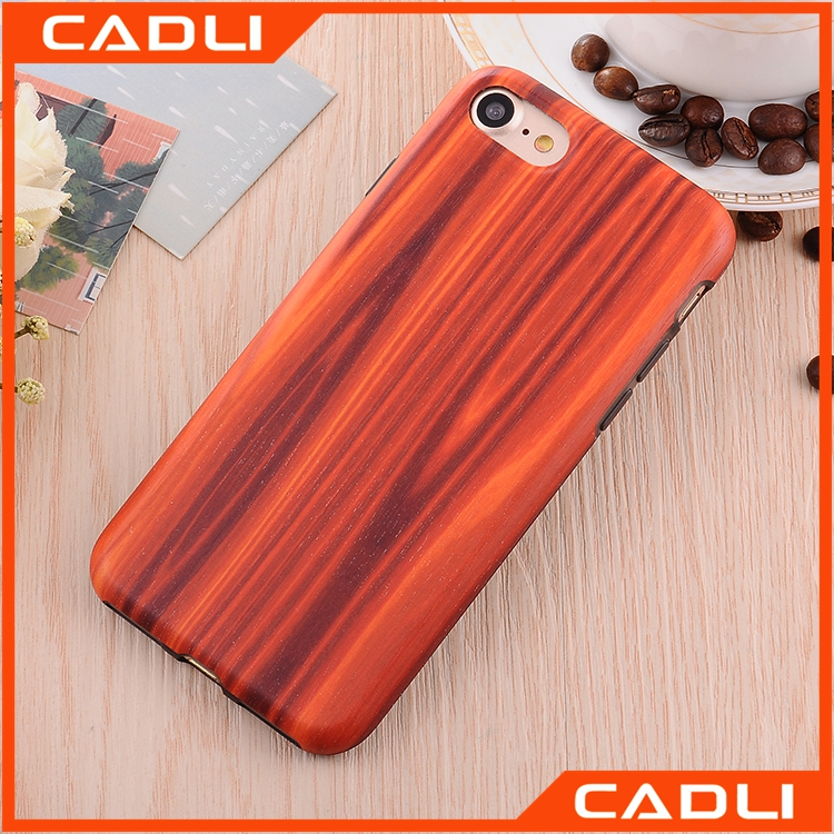 Luxury Natural Original wooden Mobile phone case for iPhone 7 plus
