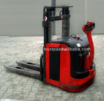 Linde L 14 Electric stacker Forklift stacker