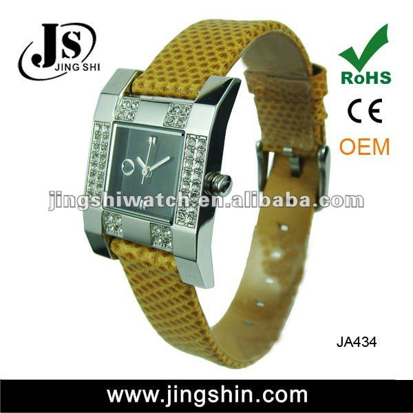 JA434 new style high quality vogue alloy lady watch 2012