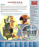 Sachet Pack Machine
