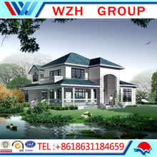 Comfortable Ready Made Prefab Steel Structure Luxury Villa