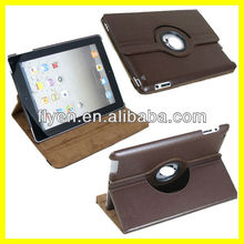 Tablet Accessories for 9.7 inch for iPad 2 Case 360 Rotating Magnetic Smart Cover 2013 Hot Selling