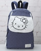 Hot Sale Canvas Hello Kitty Backpack Bag Fashion Rucksack Bag Canvas Hello Kitty Knapsack For Teens Girls