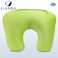 neck pillow filled with polystyrene beads, microbead pillow stuffing, animal neck pillow