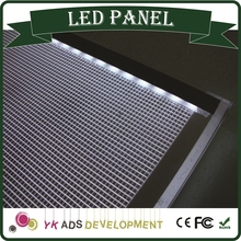 LED tv display panel has Any color available with LED Crystal Light Frame uses include advertising or decoration
