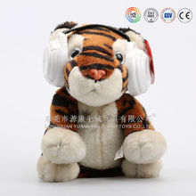 Custom any style battery operated plush animals