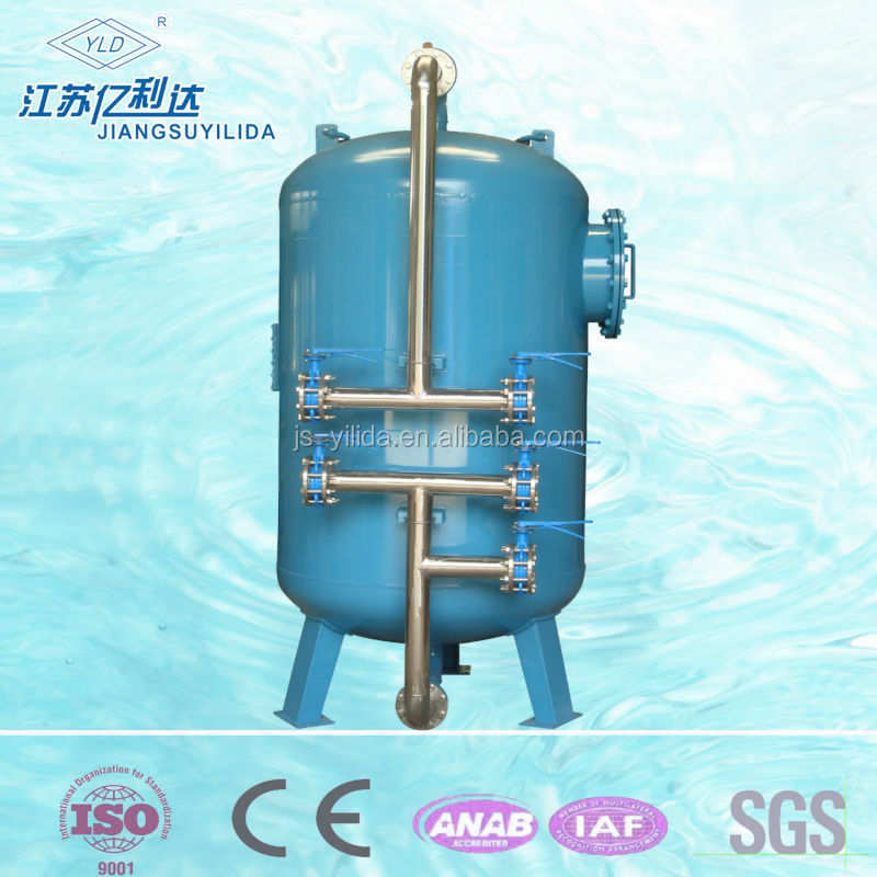 Swimming Pool Co2 Systems : Carbon steel mechnical filter for swimming pool system