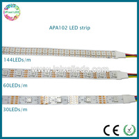 APA102 IC digital addressable smd 5050 rgb led strip light