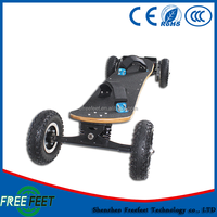 Powerful Off Road Electric Skateboard Dual Motor Hoverboard 2000W Electric Scooter For Sale