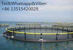 100% Raw Material High Density Cage Fish Farming in Ghana