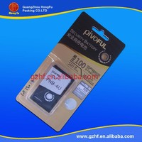 Professional customized blister sd cards packing