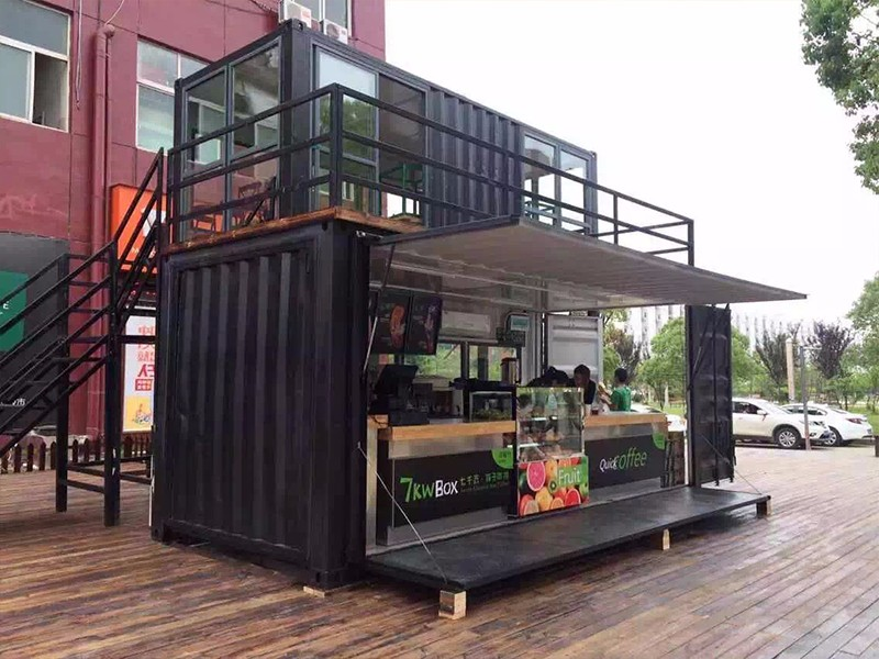 Renovated Container House Iso Modified 40ft Shipping