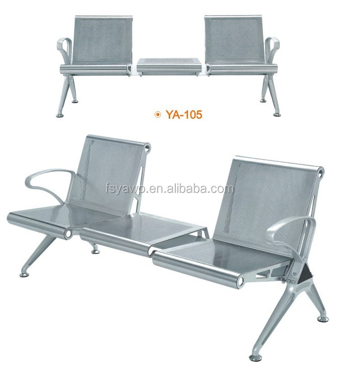 Coach station hospital airport 3 seaters Waiting Chair