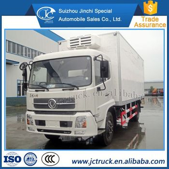 Economic Product High Performance dongfeng below zero 18 Frozen truck distribution