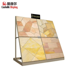 Ceramic Tile Display Racks Stands for Showroom Metal Frame Display Racks For Marble Granite Stone Tile