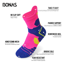 Wholesale Women's Athletic Sport Coolmax Socks For Cycling