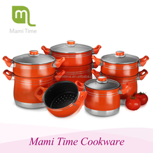 2015 hot sale Mami time season aluminum cookware steamer pot with high quality