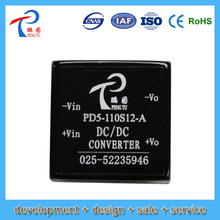 48v to 5v dc-dc converters 3w 0.6a pin type PD-A Series