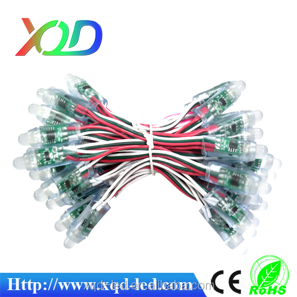 rgb led pixel 12mm Square Waterproof Full Color RGB LED nodes 6803IC DC5V for Channel letters