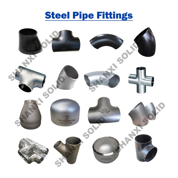 ANSI b16.9 Carbon Steel Butt Welded Pipe Fitting