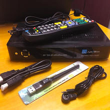 jyazbox ultra hd V500 with jb200 turbo 8psk dvb-s2 module 1 set /lot new package