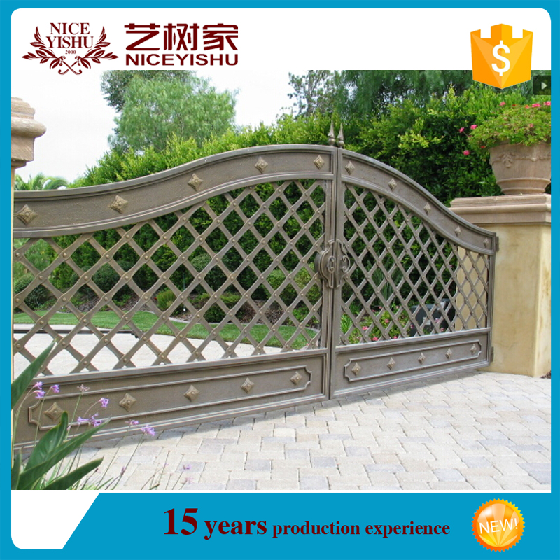 alibaba iron gate/Removable swimming pool safety fence child safety pool fence