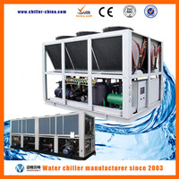 Air cooled screw type water chiller r22 compressor