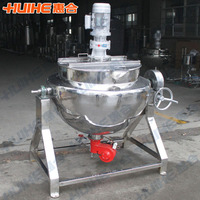 500l jacketed kettle food processing machine sugar meat