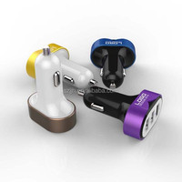 custom mobile phone multiple USB car charger