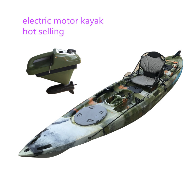 Electric motor kayak from china factory wholesale fishing <strong>boat</strong>