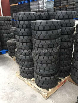 250x15 forklift solid tires reciclar