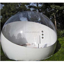 New design inflatable clear tents, inflatable bubble tent can upgrade to other normal designs