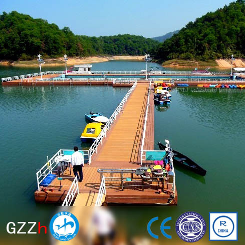 slip resistant surface modular floating dock from chinese manufacturer for kayak
