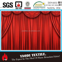 Heavy luxry velour drape for stage curtain