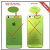 cheap tpu mobile phone case for iphone 5g