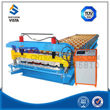New type seaming roofing sheet metal roofing tile making machine roller former