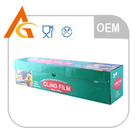 pvc cling film pvc wrap film food grade cling film