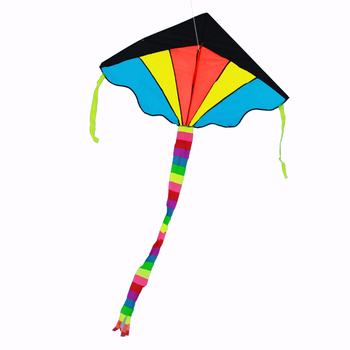 colorful delta kites customised