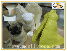 resin animal figurine mould making rtv silicone