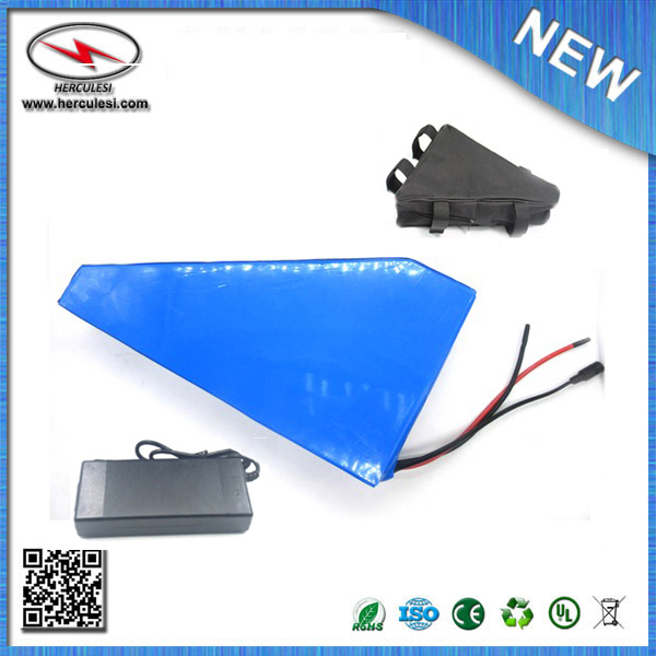 60V lithium ion battery 60V 30Ah 1800W triangle type electric bike battery 60 volt e-bike battery