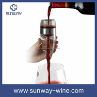 Red Wine Aerating Pourer Decanter Spout Gift Set Best Bar Accessory