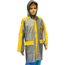clear plastic rain coat