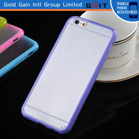 2014 New product cell phone case for iPhone 6 plus 5.5 inches back case, for iPhone 6 plus transparent tpu case