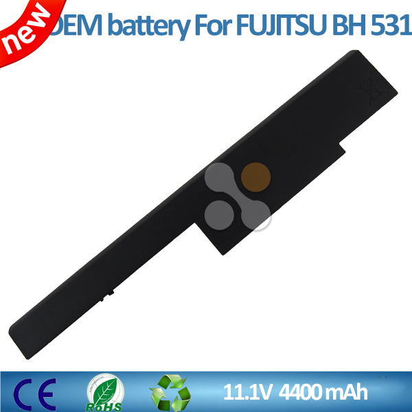 11.1V 4400mAh/49mh Notebook /laptop battery for Fujitsu BH531 SH531 LH531 Series FMVNBP195