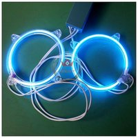 hot sales cheapest 80mm led angel eye with invertor white red blue