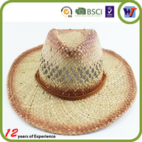 Handmade Fashion Hats Visor Sombrero Man Straw Hat