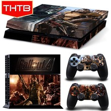 Factory wholesale vinyl skin for ps4 console controller decal sticker