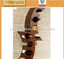 Custom Design Wooden Red Wine Holder, Single Wooden Wine Rack, Wine Rack