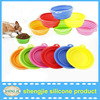 Factory Best Selling Foldable Silicone Collasible Dog Travel Bowl, Pet Bowl